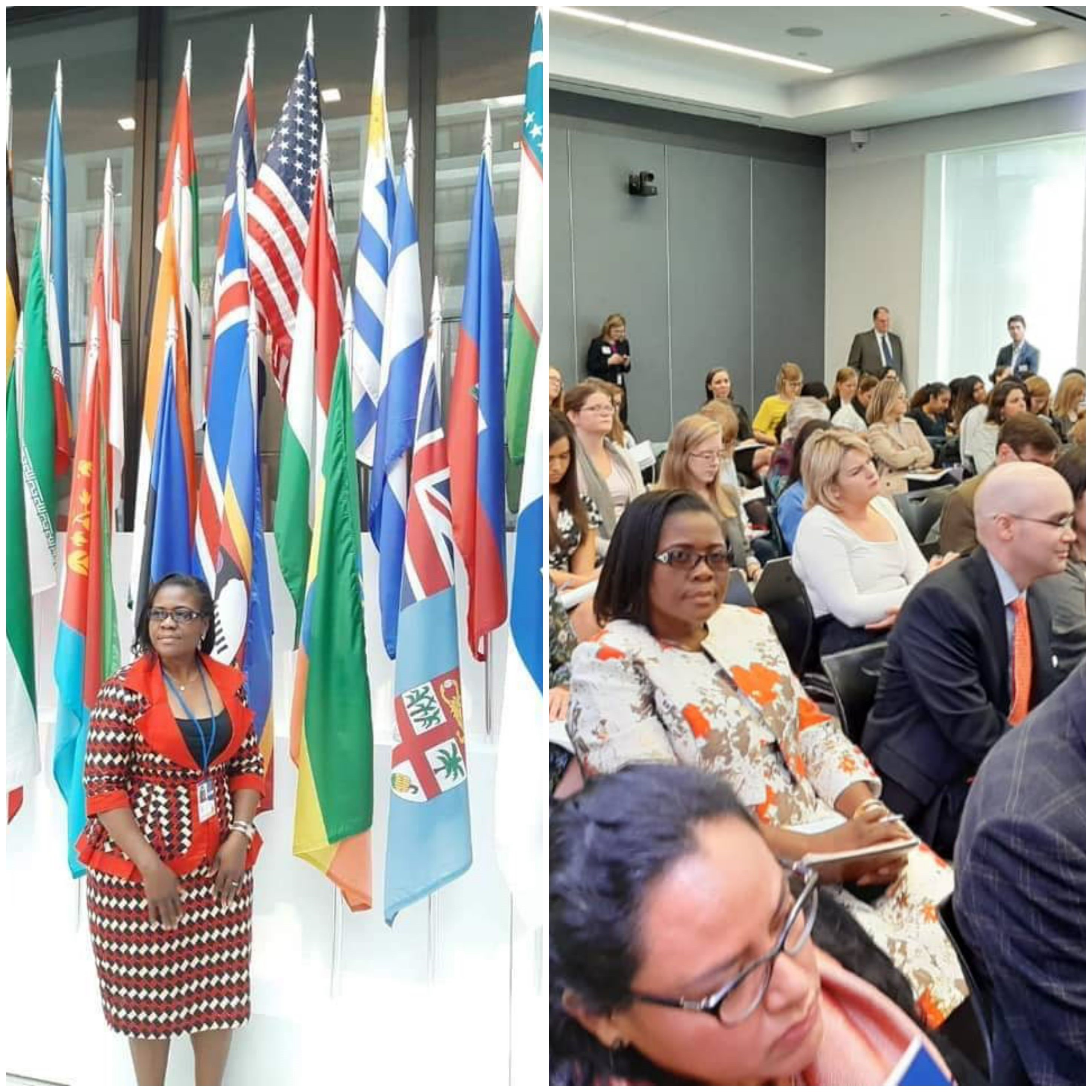 MDC Vice President Lynette Karenyi-Kore at IMF/World Bank Annual Meetings 2019