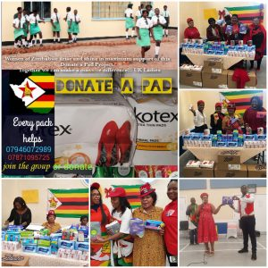 Donate-A-Pad Project: We Need your Help - Zimbabwe is suffering a sanitary wear crisis