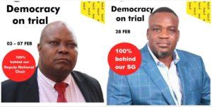 DEMOCRACRY ON TRIAL