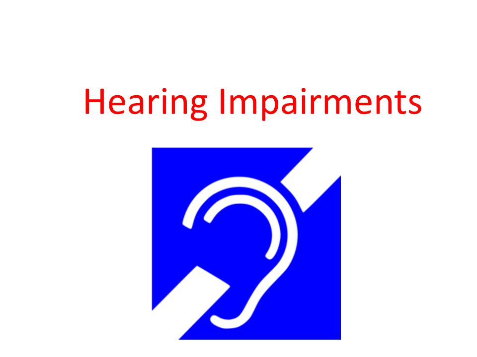 COVID-19 impacts on people with hearing impairments